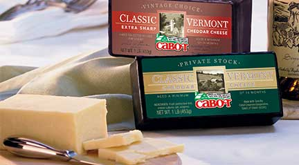Cabot Cheese!