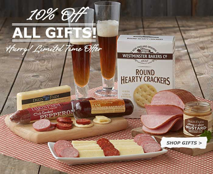 10% Off Dakin Farm Gift Samplers - Hurry! Limited Time Offer