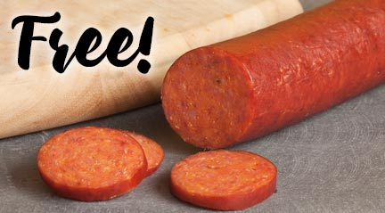 Cabot White Sale and FREE Pepperoni!