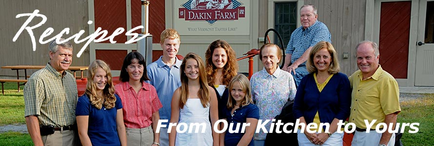 Recipes from our Dakin Farm kitchen to yours