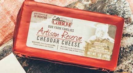 Free Cabot Artisan Cheese