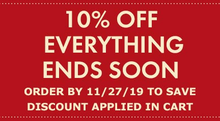 Everything - 10% OFF