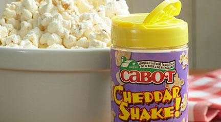 Cabot Cheddar Shake!