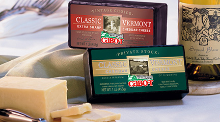 Cabot Cheese - The Best!