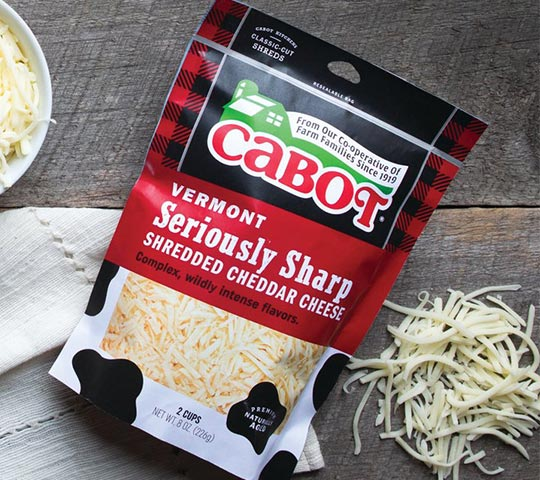 Cabot Shredded Cheese