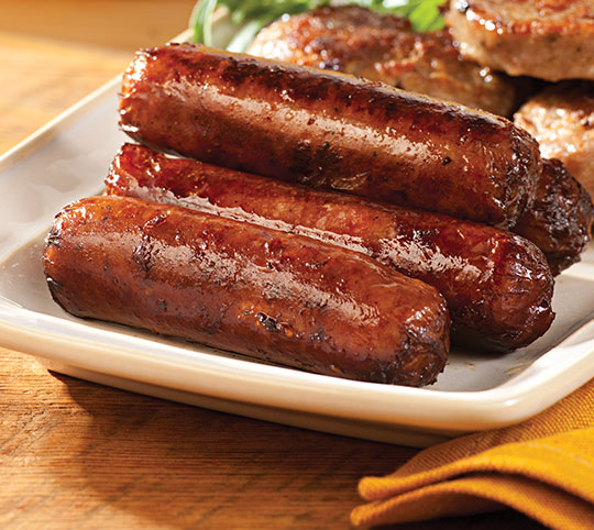 Cob-Smoked Maple Sausage