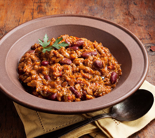 Maple Sausage Chili