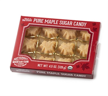 Vermont Organic Maple Leaf Candy