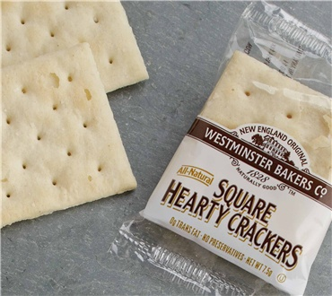 Individually Sealed Two Packs of Square Crackers