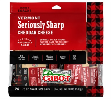 Cabot Seriously Sharp 24 Count Bag