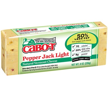 Cabot Pepper Jack Light Cheddar