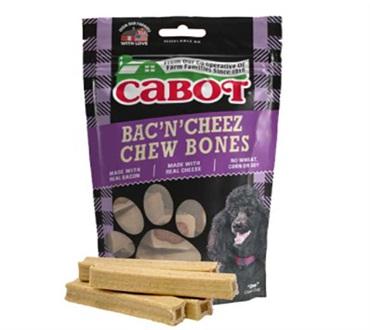 Cabot Dog Treats Bacon N' Chew Bones