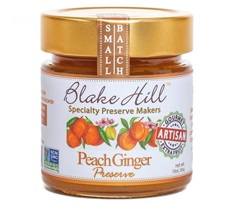 Blake Hill Summer Peach Ginger Preserve