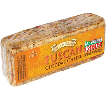 Cabot 8 Oz Tuscan Encrusted Cheddar Cheese