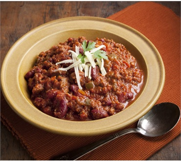 Bison Chili with Maple Syrup