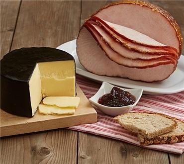 Turkey Breast, Cheese & Chutney