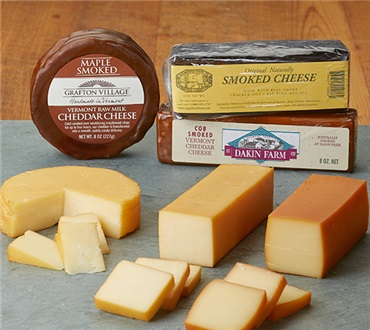 Vermont Smoked Cheese Trio