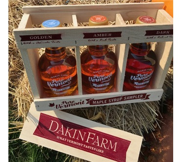 Dakin Farm Glass Sampler