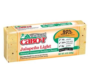 Cabot Jalapeno Light Cheddar