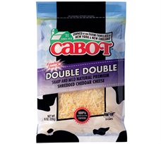 Cabot Double Double Shredded Cheddar