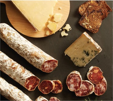 Vermont Artisan Salami & Artisan Cheese Combination