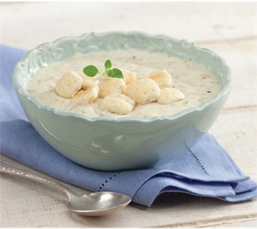 Shanty on the Shore Clam Chowder
