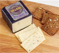 Plymouth Cheese Sage And Herb Cheddar