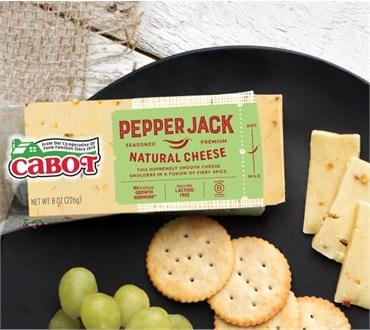 Cabot 8 Oz Flavored Pepperjack