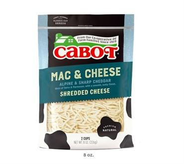 Cabot Mac & Cheese Shredded Cheddar