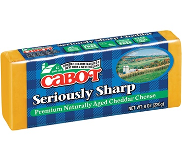 Cabot Seriously Sharp Yellow Cheddar