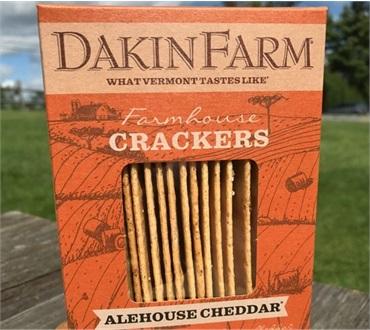 Dakin Farm Alehouse Cheddar Crackers