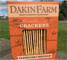 Dakin Farm Alehouse Cheddar Crackers