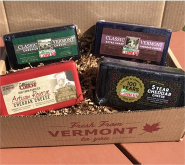Cabot Centennial Cheese Sampler