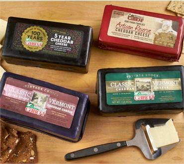 Cabot Centennial Cheese Sampler