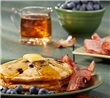 Complete Blueberry Pancake Breakfast
