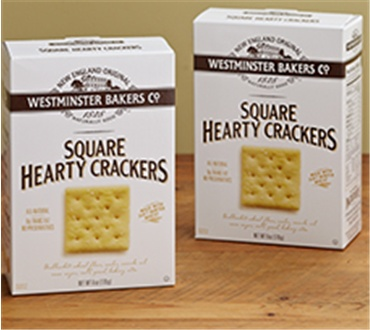 Six 6 oz Boxes of Westminster Square Crackers