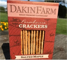 Dakin Farm Salted Maple Crackers