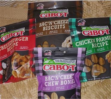 Cabot Dog Treats Combo Pack