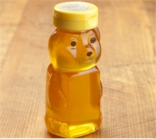 Clear Vermont Clover Honey Bear