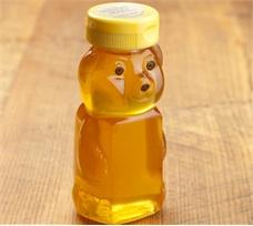 Clear Vermont Clover Honey Bear