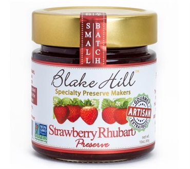 Blake Hill Strawberry & Rhubarb Preserve