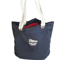 Cabot Logo Canvas Tote Bag