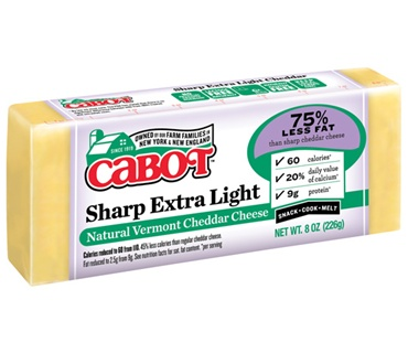 Cabot Sharp Extra Light Cheddar
