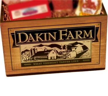 Dakin Farm Logo Wooden Box