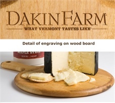 Dakin Farm Engraved Cutting Board