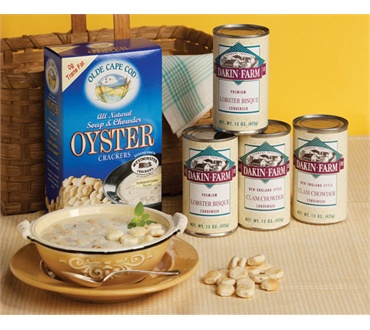 New England Chowder & Oyster Crackers