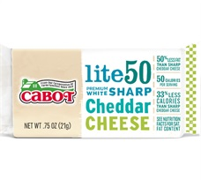 Cabot Light Cheddar 96 Count Box