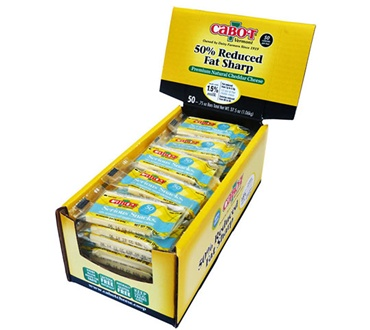Cabot Sharp Light 50 Count Mini Bars