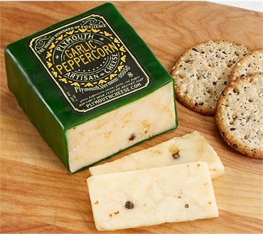 Plymouth Cheese Garlic & Peppercorn