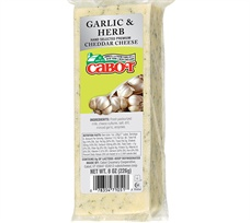 Garlic & Herb Cheddar Cheese
